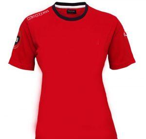 تی شرت نخی قرمز